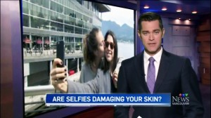 CTV News - Are selfies damaging your skin?