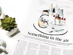 """Globe & Mail: """"Beauty products aim to block aging effects of pollution"""", featuring Dr. Marcie Ulmer"""