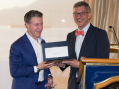 Dr. Jason Rivers Receives Award for 25 Years of Distinguished Service From UBC Dermatology