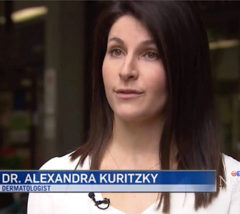 Dr. Alexandra Kuritzky interviewed on CTV news about skin cancer - July 22, 2017