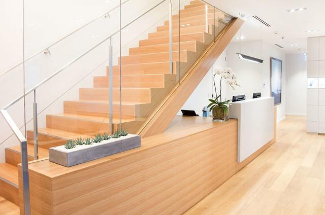 Pacific Derm - Staircase