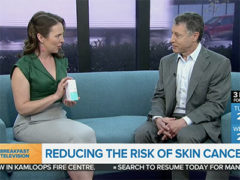 City TV's Breakfast Television Interviews Dr. Jason Rivers on Reducing The Risk of Skin Cancer and Riversol Sunscreen