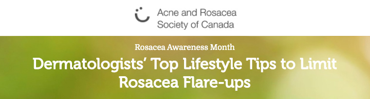 ARSC header - Dermatologists' Top Lifestyle Tips to Limit Rosacea Flare-ups