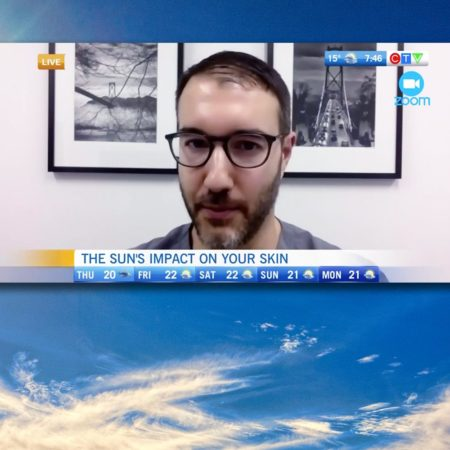 Dr. Vincent Richer on CTV: Protecting your skin from sun damage