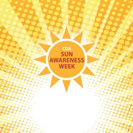 Sun Awareness Week background